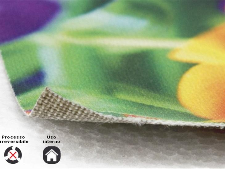 Prodotto | Stampa su tela pittorica con tecnologia UV